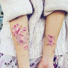 Flowers | Tattoo | rosa | Blumen | underarms | rose | love this