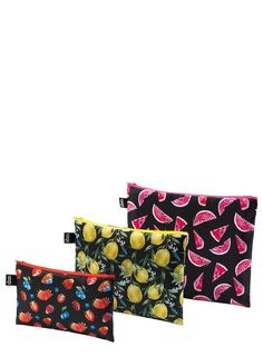 LOQI JUICY Collection – Zip Pockets