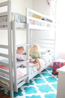 Fort Kids Steel Bunk Beds Modern Bunk Beds Loft Beds Modern Kids Furniture Bright Kids Room Modern Kids Room Modern Kids Furniture