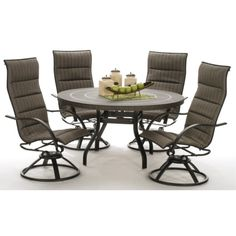 Palm Bay Padded 5 Pc Set | HOM Furniture