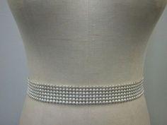 Wedding Belt Bridal Belt Sash Belt Ivory/Off by LucyBridalBoutique, $38.00