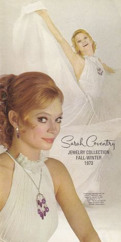 JULIET PROWSE   1973 Vintage Sarah Coventry, vintage Catalog PDF, vintage Digital Download, Vintage PDF Catalog download, jewelry reference - pinned by pin4etsy.com