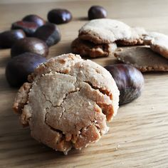Chestnut cookies HealthyAperture.com