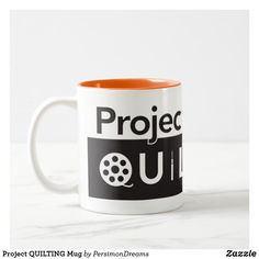 Shop Project QUILTING Mug created by PersimonDreams. Succulents Diy, Morning Coffee, Work On Yourself, Dinnerware, Color Pop, Best Gifts, Quilting, Challenges, Mugs