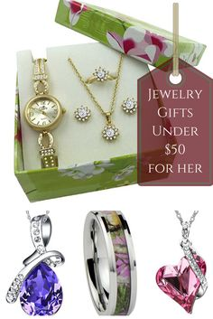 Jewelry Cool Gifts Under 50 Dollars