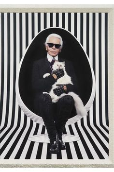Pierre & Gilles  For your eyes only Karl Lagerfeld 2013