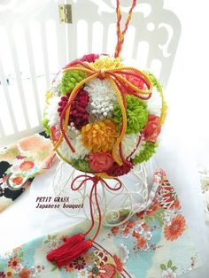 Japanese flower bouquet