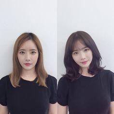 Pin on Korean Pin on Korean Medium Short Hair, Medium Hair Cuts, Long Hair Cuts, Medium Hair Styles, Curly Hair Styles, Korean Haircut Long, Korean Short Hair, Side Fringe Hairstyles, Pretty Hairstyles