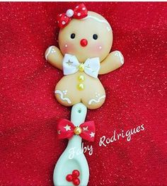 Faby Rodríguez Polymer Clay Christmas, Cute Polymer Clay, Cute Clay, Polymer Clay Projects, Diy Clay, Clay Crafts, Diy And Crafts, Noel Christmas, Christmas Signs