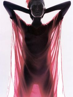 Maggie Rizer photographed by Nick Knight for Vogue UK