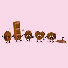Chocolate illustration   © Rémy Tornior