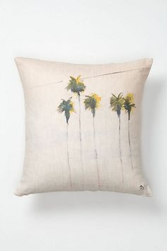 Five Palms Pillow - Anthropologie