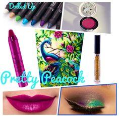 Pretty Peacock makeup palette