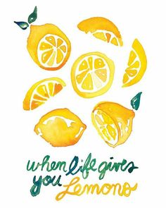 """96 Me gusta, 4 comentarios - Celop Punto (@celoppunto) en Instagram: """"Pues eso... Si la vida te da limones... ¡Hazte limonada! Que este lunes haya ido genial …"""""""
