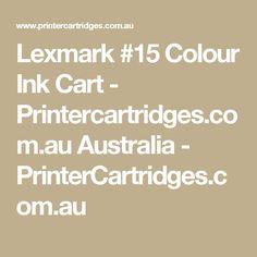 Lexmark #15 Colour Ink Cart - Printercartridges.com.au Australia - PrinterCartridges.com.au