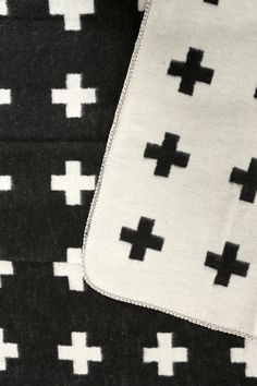 Pia Wallen Cross Bed Blanket