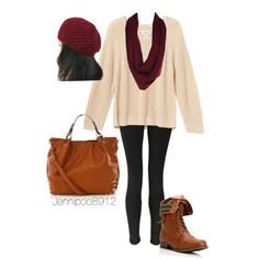 """""""Cozy fall outfit"""" for semester in Spain"""