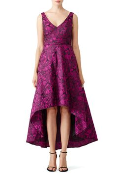 Rent Jasmine Orchid High-Low Gown by pamella by pamella roland for $100 only at Rent the Runway.