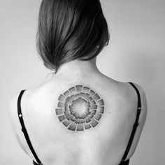 Back Design | 50 Seriously Impressive Dotwork Tattoos