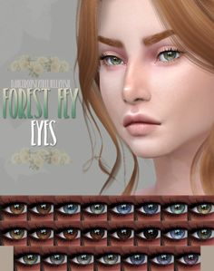 Sims 4 CC's - The Best: Forest Fey Eyes by dangerouslyfreejellyfish