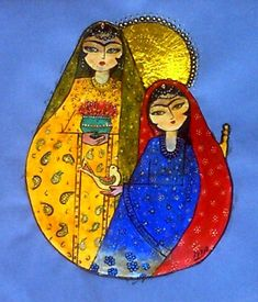 Persian Girls Painting by Mehdi Mehrvarz - Persian Girls Fine Art Prints and Posters for Sale