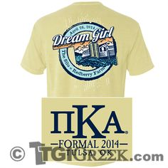 TGI Greek - Pi Kappa Alpha - Formal - Comfort Colors - Greek T-shirts #TGIGreek #PiKappaAlpha