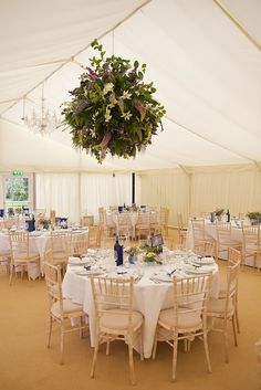 The Marquee of Iscoyd park, our wedding venue.