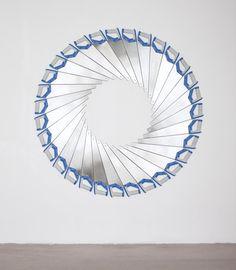 Untitled Endless Cut by Jacob Dahlgren #sculpture #saw #circle