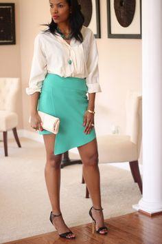 DIY Asymmetric Skirt-Beaute' J'adore