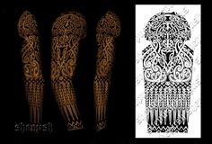 Tribal sleeve by shepush