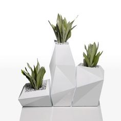 macetas de cemento geometricas - Buscar con Google
