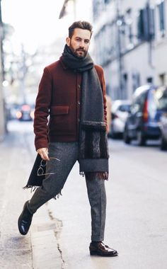 10 Mens Fashion Style Outfits for Winter #MensFashion