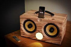 thodio ibox XC aptX bluetooth apple universal dock best iphone speaker boombox ibox wood wooden teak zebrawood zebrano oak beech cherry walnut bamboo retro ammo can box speakers 3 1024x1024 thodio iBox XC