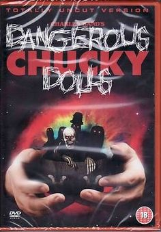 Dangerous Chucky Dolls (DVD, 2008) Brand New & SEALED 4.99£