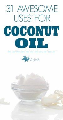 I love coconut oil! And these 31 uses for coconut oil are pretty great.