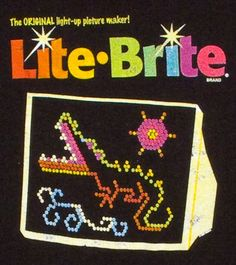 Lite Brite..I spent so many hours on this!