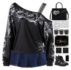 """""""dark woods"""" by scarlett-morwenna ❤ liked on Polyvore featuring Polaroid and Casetify"""