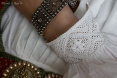 Details from a traditional Hardanger costume. Photo by Linda K. Røed