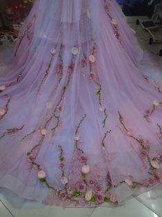 Rapunzel Wedding Dress, Goth Wedding Dresses, Tangled Wedding, Lavender Wedding Dress, Dress Wedding, Fantasy Gowns, Fairytale Dress, Princess Aesthetic, Quince Dresses