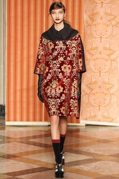 Jacquard Heritage ::Ireland Meets Russia ::  JacquardFabric#Fashion #Trends for Fall Winter 2013 | Antonio Marras Fall Winter 2013 #BestPiece#MFW