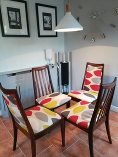 Newly upholstered retro G Plan chairs created by Revivals and Restorations Ltd Upholstered Furniture, Painted Furniture, Minimalist Bedroom, Retro Design, Your Space, Modern Interior, Mid-century Modern, Restoration, Upholstery