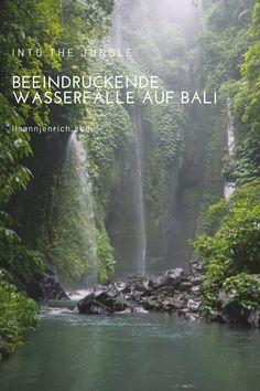 Absolut sehenswerte Wasserfälle auf der beliebten Insel, die auf jeden Fall einen Besuch wert sind. Bali, Waterfall, River, Outdoor, Island, Nice Asses, Outdoors, Waterfalls, Outdoor Games