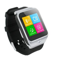 JUYOU Smart Watch S28 GV08 Smart Watch Bluetooth Watch Phone Silver. Best companion new smart sports watch phones, smart phones, mobile phone anti-lost anti-theft feature. 1.54-inch high-definition screen resolution of 240X240. The synchronous smartphone Caller ID. Remote control camera functions. Supports three calls, hands-free, wired and wireless Bluetooth headset.