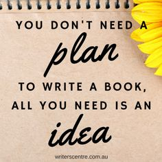 You don't need to plan a book: here's what works better - Australian Writers' Centre