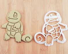 Squirtle Cookie Cutter squirtle party squirtle birthday squirtle baby squirtle fabric squirtle invitation squirtle nursery squirtle cake