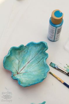 Leaf Clay Dish Art Projects For Kids Clay Clay Projects For
