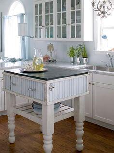 Kücheninsel Ideen für den kleinen Raum - Landhausstil
