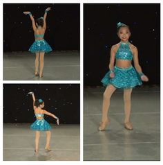Custom tap solo costume by gLAM for Malia.