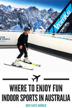 Are you looking for fun things to do in Canberra, Australia with kids? Check out Vertikal Indoor Snow Sports where you can enjoy everything from skiing indoors to a little apres ski drink and treats! I things to do in Australia with kids I places to go in Australia I Australia travel I family activities in Canberra I indoor sports in Australia I indoor activities in Australia for kids I Canberra attractions I #Canberra #familytravel #Australia Australia For Kids, Australia Travel Guide, Perth Australia, Visit Australia, Toddler Travel, Travel With Kids, Family Travel, Road Trip With Kids, Family Road Trips