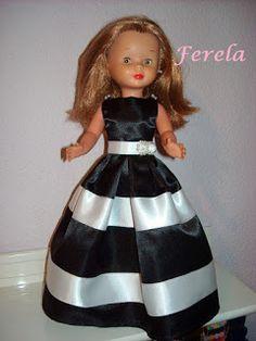 Vestidos Nancy, Barbie, Doll Clothes, Diy, Disney Princess, Vintage, Style, Fashion, Doll Dress Patterns